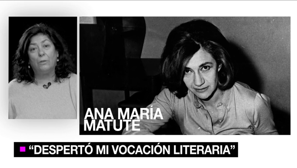 8-MUJERES: Almudena Grandes y cómo Ana María Matute despertó su vocación literaria