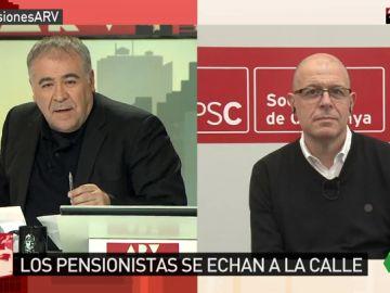 El diputado del PSC, José Zaragoza