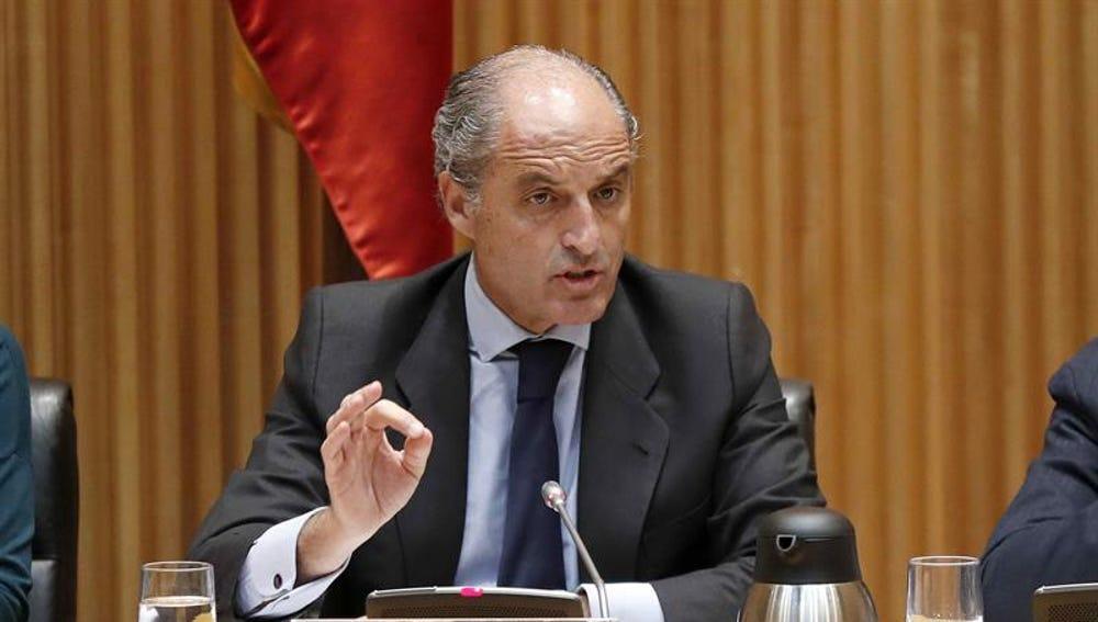 El expresidente de la Comunidad Valenciana Francisco Camps
