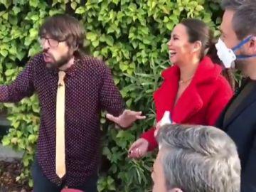 Quique Peinado, Cristina Pedroche, Miki Nadal y Frank Blanco