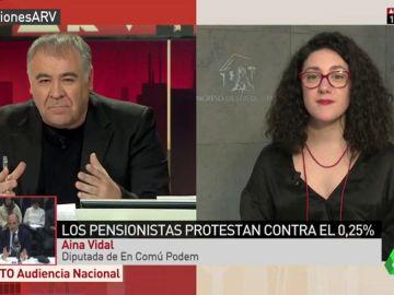 Aina Vidal, diputada de En Comú Podem
