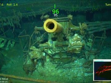 Hallan en Australia los restos del portaaviones americano Lexington, hundido por los japoneses en la II Guerra Mundial