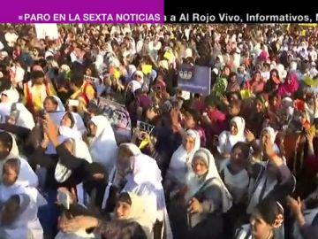 Huelga de mujeres en el mundo