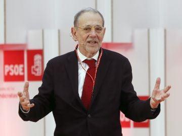El exdirigente socialista Javier Solana