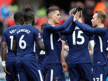 El Tottenham en semifinales de la FA Cup