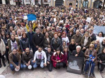 Manifestación por la prisión permanente revisable en Huelva