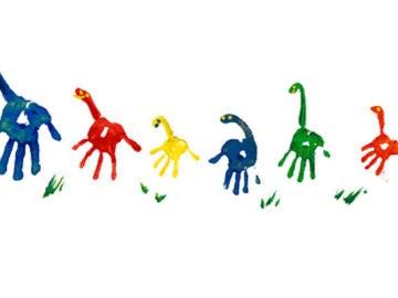 Google dedica un original 'doodle' a todos los padres en su día
