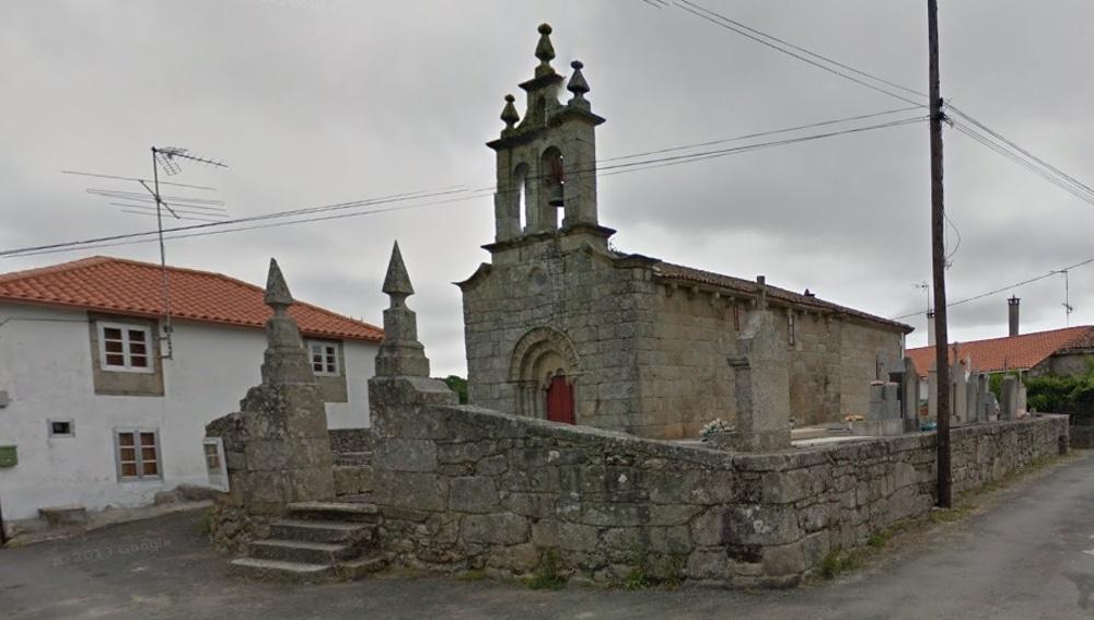 Parroquia de Esporiz, en Monterroso (Lugo)