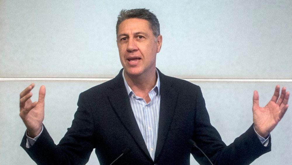 Xavier García Albiol en el pleno del Congreso