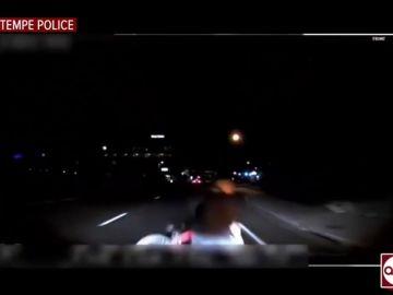 Así fue el atropello mortal de una mujer por un vehículo de Uber: la policía difunde las impactantes imágenes