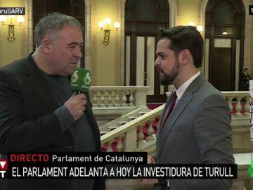 Fernando de Páramo, portavoz de Ciudadanos en el Parlament