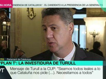 Xavier García Albiol, líder del PP en Cataluña