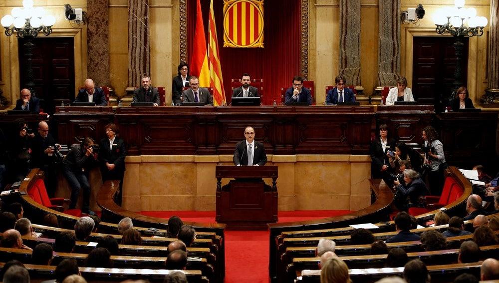 Jordi Turull en el Parlament