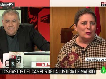La diputada del PSOE en la Asamblea de Madrid, Mercedes Gallizo