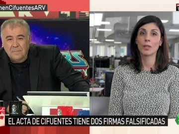 La periodista de 'eldiario.es' Raquel Ejerique