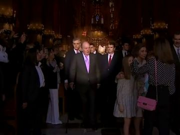 El rey juan Carlos y la familia real
