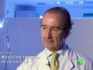 Manuel Serrano, jefe de Medicina Interna de la Clínica de La Luz