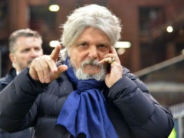 El presidente de la Sampdoria