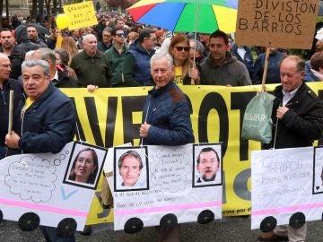 Manifestantes en Granada