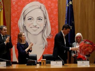 Homenaje a Carme Chacón en el Congreso