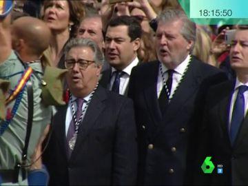 Los ministros cantan 'El novio de la muerte'