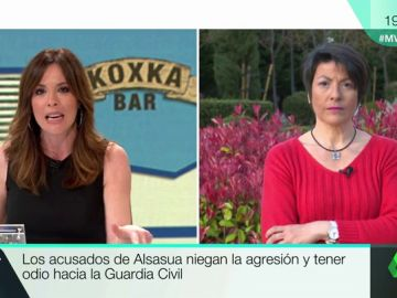 Inmaculada Fuentes, madre del teniente de la Guardia Civil agredido en Alsasua