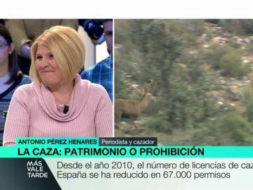 La presidenta de Pacma, Silvia Barquero