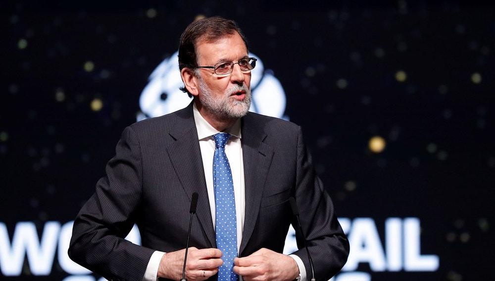 Mariano Rajoy en el  World Retail Congress