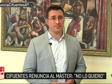 El exsecretario de Organización de Podemos Galicia, Juan Merlo