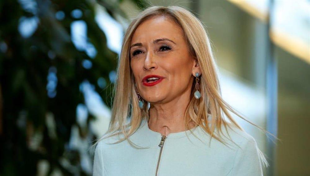 La expresidenta de la Comunidad de Madrid, Cristina Cifuentes