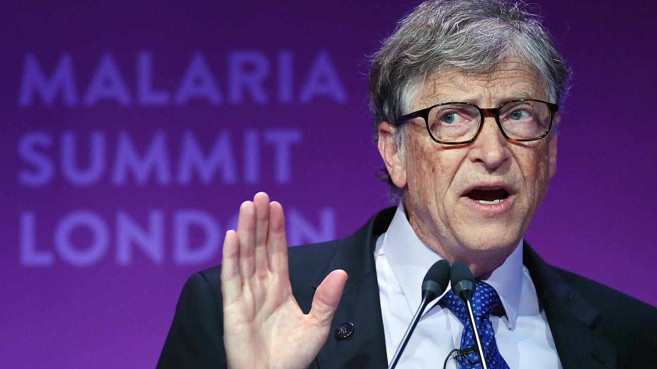 El fundador de Microsoft y filántropo Bill Gates