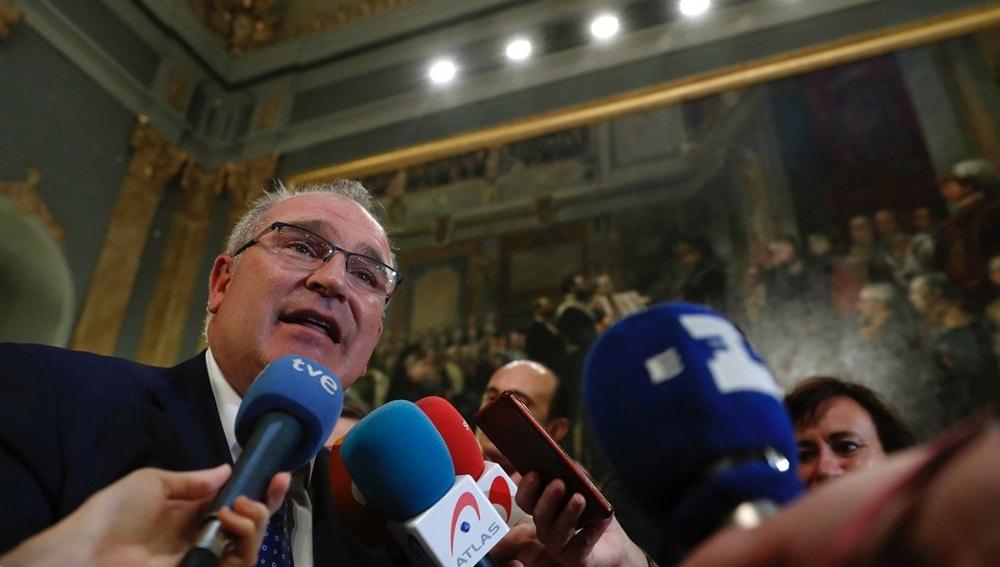 El presidente de la Asociación de Víctimas del Terrorismo, Alfonso Sánchez