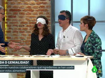 Mikel Iturriaga, María Juan, Roberto Brasero y Cristina Pardo