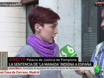 La concejala de Igualdad del Ayuntamiento de Pamplona, Laura Berro