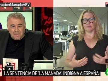 La periodista de 'La Vanguardia', Mayka Navarro