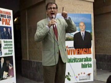 El exministro socialista Ernest Lluch en 1999