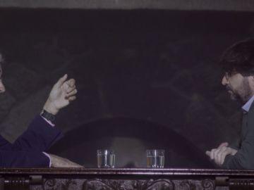 Rafael Vera y Jordi Évole en Salvados