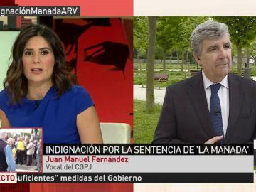 El vocal de CGPJ Juan Manuel Fernández