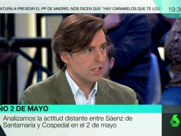 El periodista de 'Libertad Digital', Pablo Montesinos