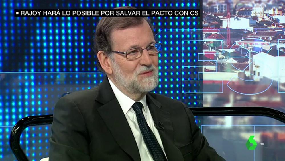 """Rajoy intenta rebajar la tensión con Ciudadanos: """"De lo que se trata es que en lo fundamental estamos de acuerdo"""""""