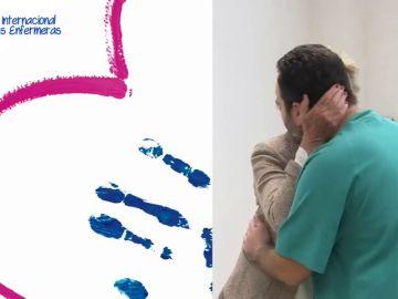 #TuEnfermeraDejaHuella: la campaña que muestra el vínculo entre pacientes y enfermeros