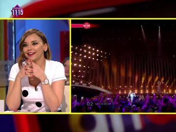 Chenoa habla de Eurovisión