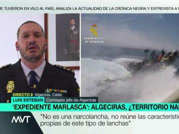 Lusi Esteban, comisario jefe de Algeciras