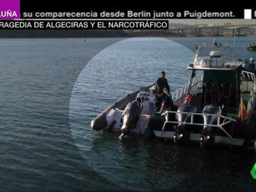 Los tripulantes de la lancha que arrolló al niño en Algeciras y el padre del menor tienen relación con el narcotráfico