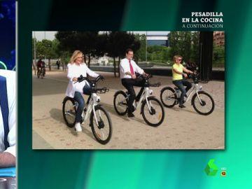 Cifuentes, Rajoy y Aguirre
