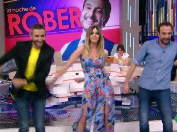 Frank Blanco y Roberto Vilar acaban con la paciencia de Anna Simon intentando bailar el 'Swish Swish' de Katy Perry