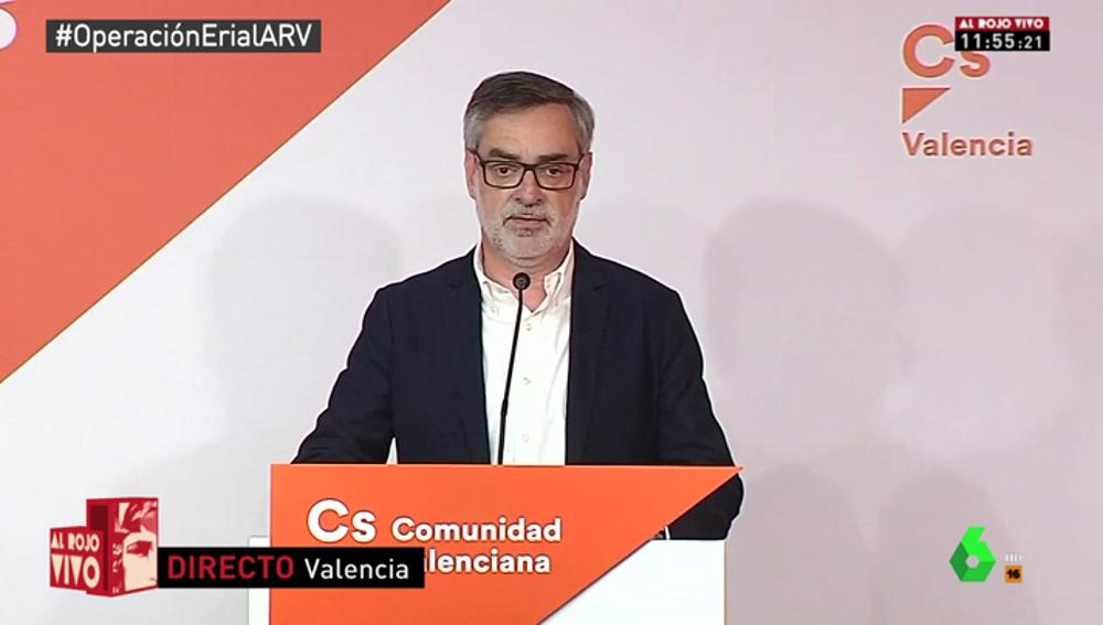 """Ciudadanos exige a Rajoy que convoque nuevas elecciones: """"Si se niega, estaremos dispuestos a apoyar la moción de censura"""""""