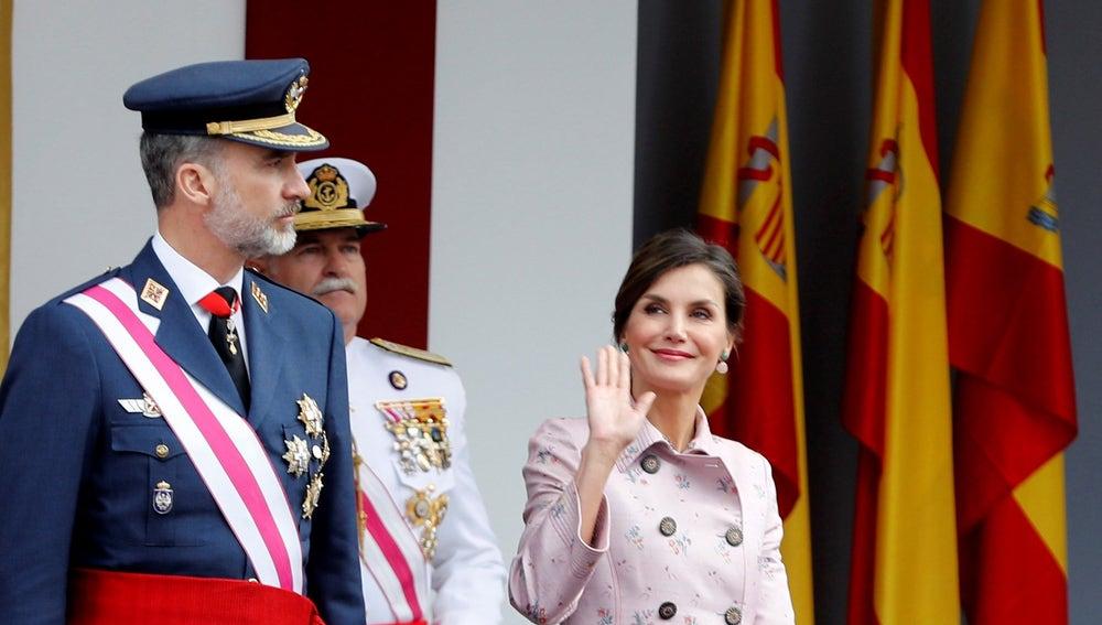 Los reyes presiden el Día de las Fuerzas Armadas en Logroño
