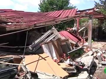 Confusión y enfado entre los vecinos de Tui tras la explosión: la pirotecnia debía haber cesado su actividad hace tres años