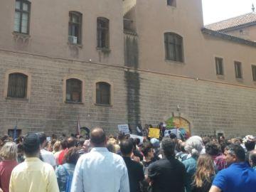 Imagen de la manifestación contra la ley de Extranjería